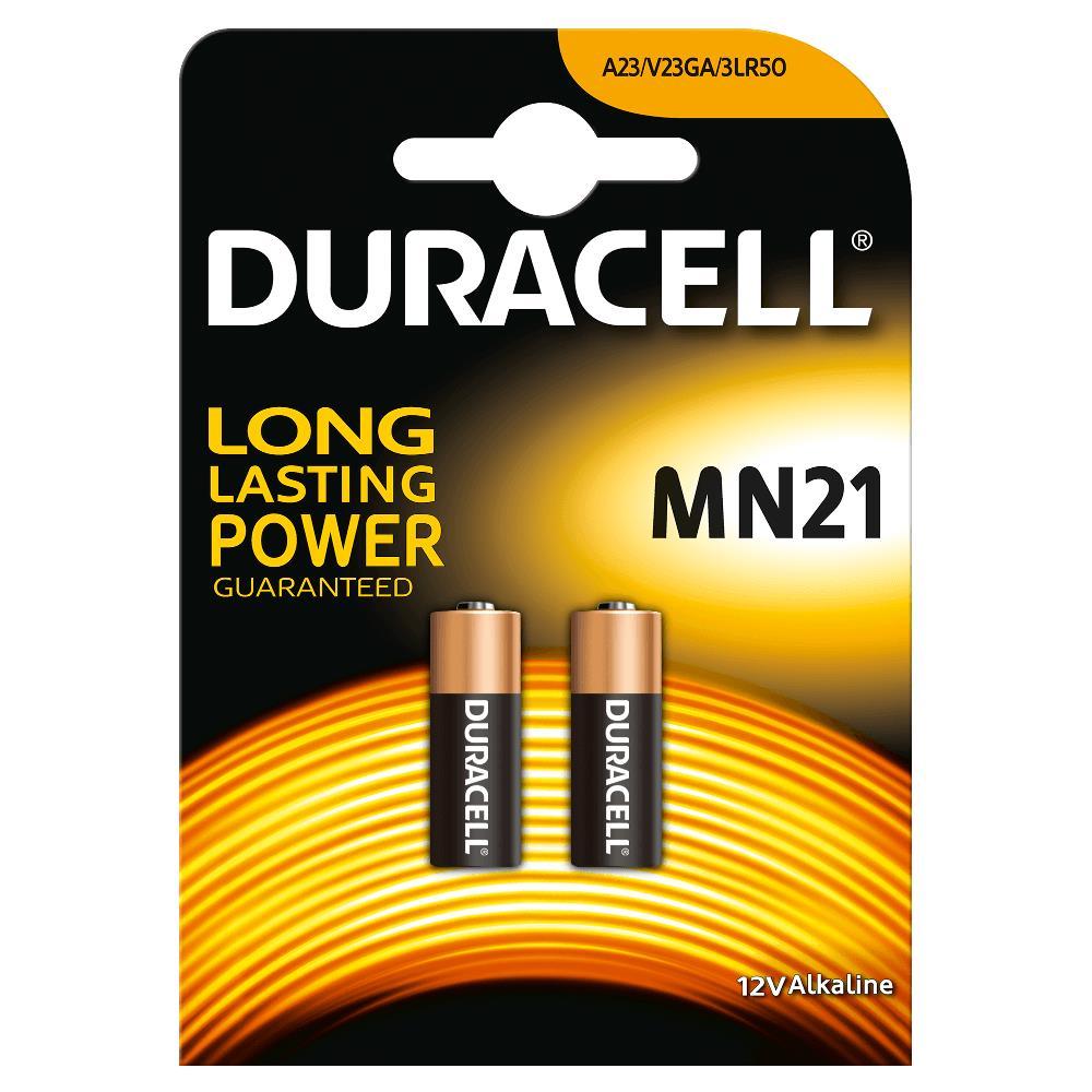 Duracell 3LR50B2 Pilas Alcalinas MN21 12V (2 unidades)