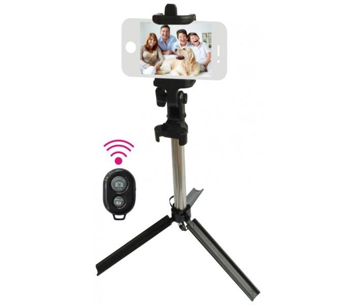 L-Link LL-AM-120 Kit Selfie Tripode + Disparador para Smartphones