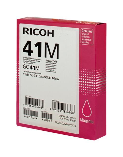 RICOH GC41 MAGENTA CARTUCHO DE GEL ORIGINAL 405763