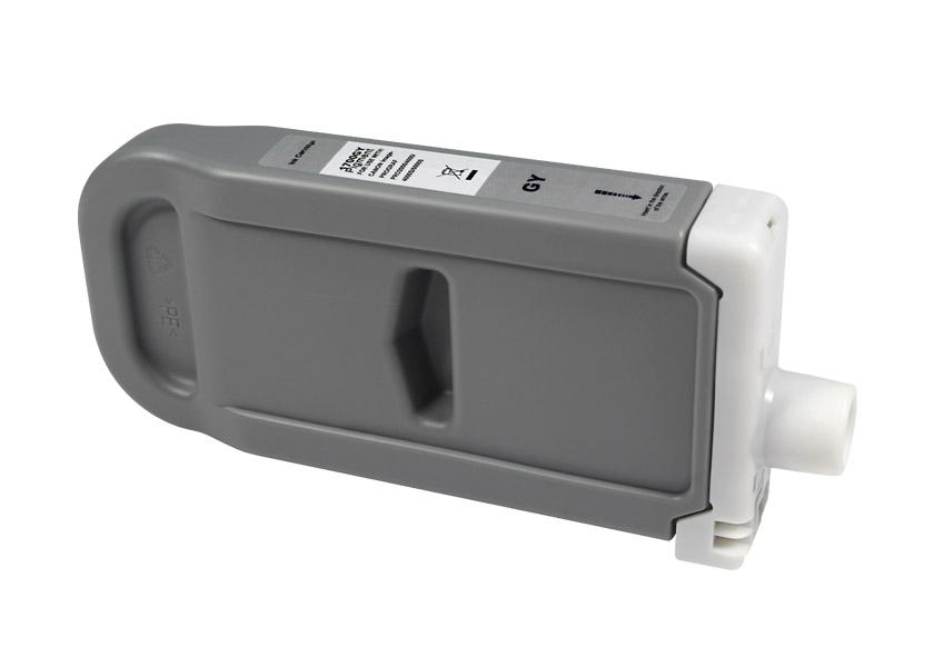 Compatible Canon PFI1700/PFI1300/PFI1100 gris tinta pigmentada - Reemplaza 0781C001/0817C001/0856C001