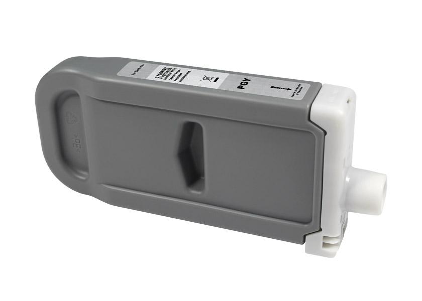 Compatible Canon PFI1700/PFI1300/PFI1100 gris photo tinta pigmentada - Reemplaza 0782C001/0818C001/0857C001