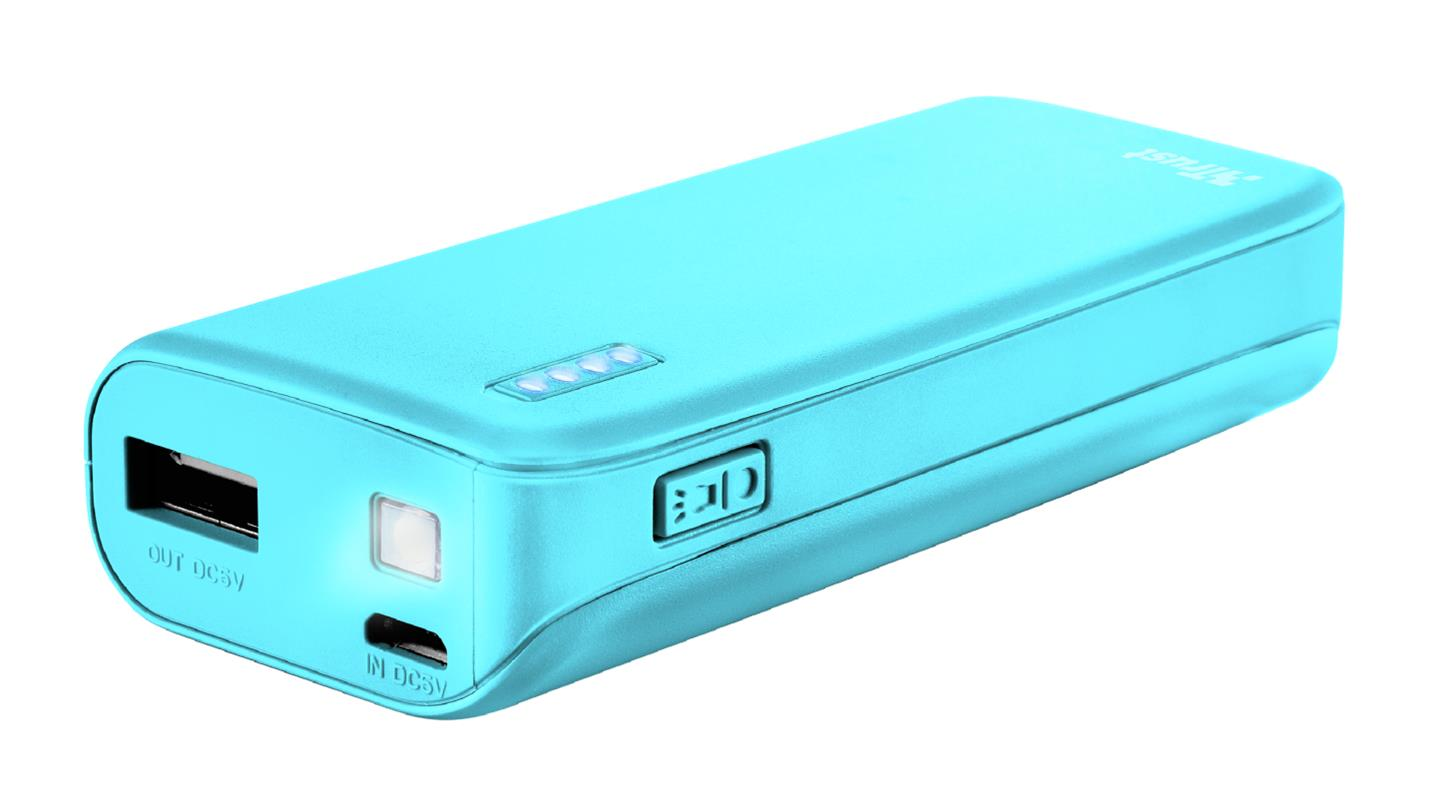 Trust 22057 Bateria Externa/Power Bank 4400mAh Azul