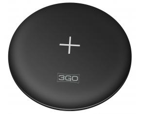 3GO WCHR2 Cargador Inalambrico para Smartphone 10W Negro