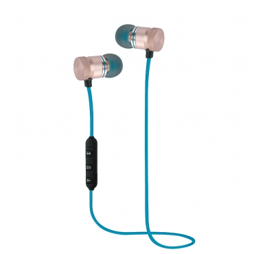 Woxter AP26-027 Auriculares Magneticos Bluetooth 4.2 Azul
