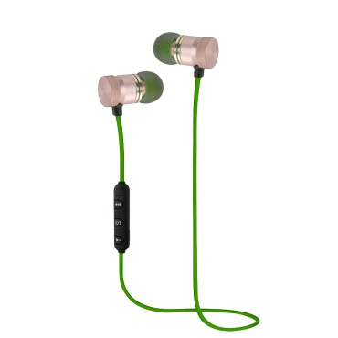 Woxter AP26-028 Auriculares Magneticos Bluetooth 4.2 Verde