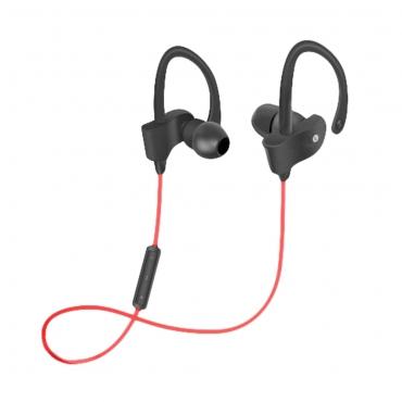 Woxter AP26-033 Auriculares Estereo Airbeat BT-9 Bluetooth 4.2 Rojo