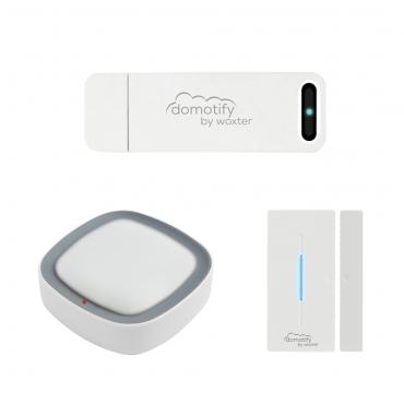 Domotify DO26-012 kit Domotica Inalambrica (Gateway, Sensor de Movimiento y Sensor de Puertas/Ventanas)