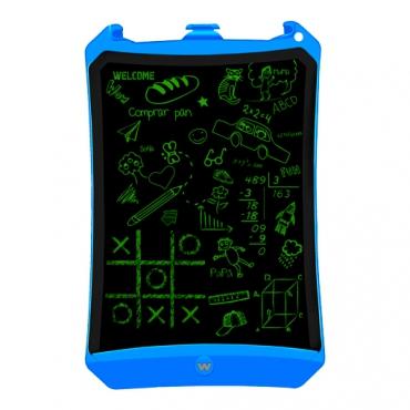 Woxter EB26-050 Pizarra Electronica Smart Pad 90 con Pantalla de Cristal Liquido Borrable Azul