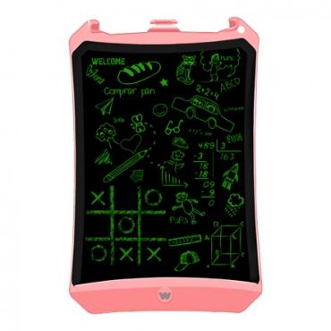 Woxter EB26-051 Pizarra Electronica Smart Pad 90 con Pantalla de Cristal Liquido Borrable Rosa
