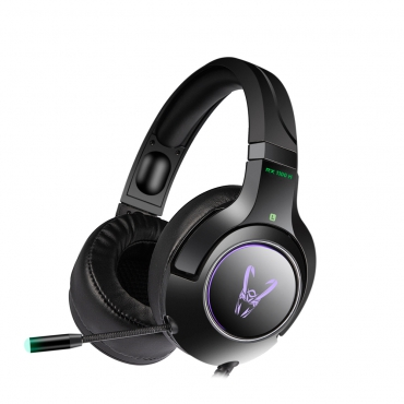 Woxter GM26-046 Auriculares Gaming Stinger RX1100H con Microfono Negro