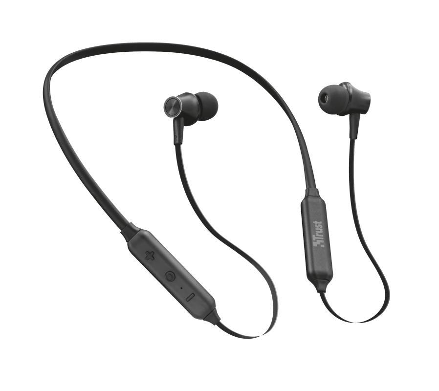 Trust 23108 Auriculares Deportivos Inalambricos Bluetooth Ludix Negros