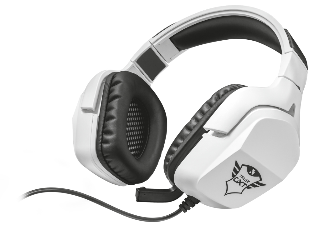 Trust 22054 Auriculares con Microfono Gaming GXT 354 Creon 7.1 Blanco