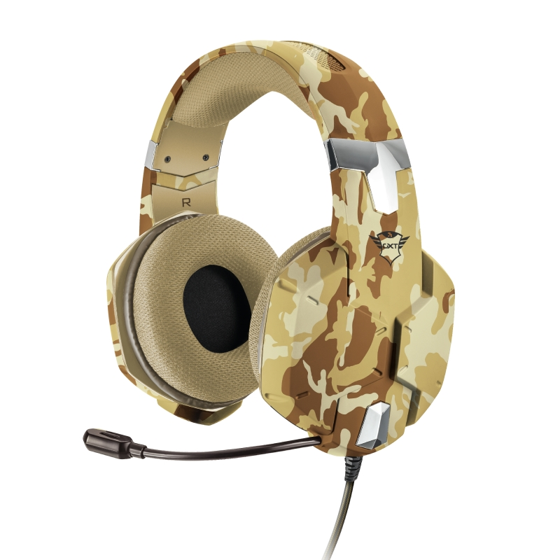 Trust 22125 Auriculares con Microfono Gaming GXT 322D Carus