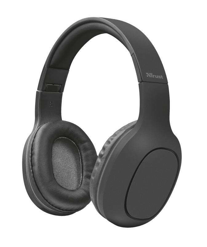 Trust 22888 Auriculares Inalambricos Bluetooth Dona Negro